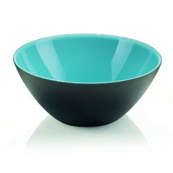 Guzzini - my fusion - misa 25 cm, czarno - niebieska - czarny || niebieski