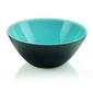 Guzzini - my fusion - misa 25 cm, czarno - niebieska - czarny    niebieski