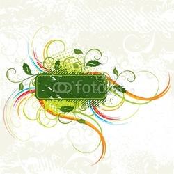 Naklejka samoprzylepna kolor składu wegetatywnego