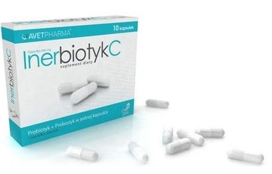 Inerbiotyk c x 10 kapsułek