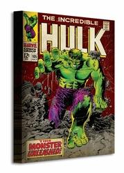 Incredible Hulk Monster Unleashed - Obraz na płótnie