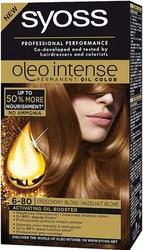 Syoss Oleo, Farba do włosów, 6-80 Orzechowy blond