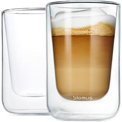 Szklanki do cappuccino 250ml Blomus Nero 2 sztuki B63654