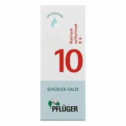 Biochemie Pflueger 10 Natrium sulfur.D 6 Tropfen
