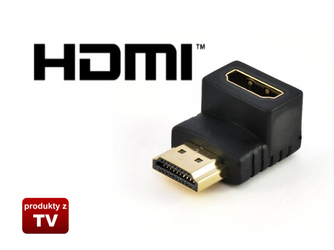 Adapter łamany 90 stopni HDMI