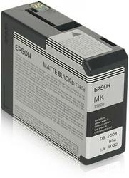 Epson Tusz T5808 BLACK MATTE 80 ml do StylusPro 3880