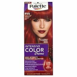 Palette, Intensive Color Creme, farba do włosów, RV-6  Szkarłatna Czerwień