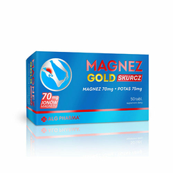 Magnez Gold Skurcz 50tabs Szybka dostawa
