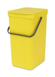 Kosz do segregacji odpadów Sort  Go 16 l żółty