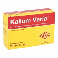 Kalium Verla Granulat Btl.