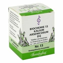 Biochemie 13 Kalium arsenicosum D 6 Tabl.