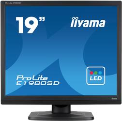 Monitor LED IIYAMA E1980SD-B1 19 54 - Szybka dostawa lub możliwość odbioru w 39 miastach