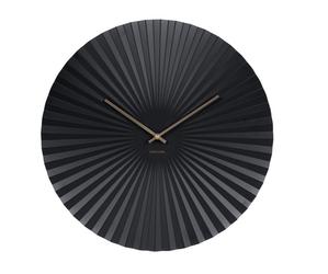 Karlsson :: Zegar ścienny Sensu czarny Ø50cm - czarny