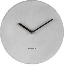 Zegar ścienny Slate 25 cm szary