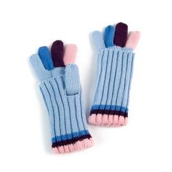 Rękawiczki colour bright blue - bright blue