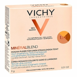 Vichy Mineralblend Mosaik-puder tan