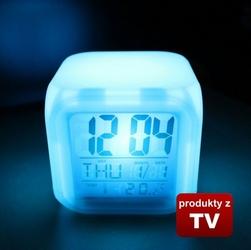 Budzik zegar Kameleon z wyświetlaczem LCD