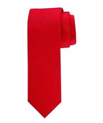 Elegancki czerwony krawat jedwabny Profuomo Originale