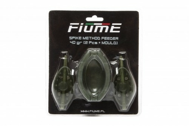 Koszyk Spike Method Feeder Set 40+40gr+Forma FIUME