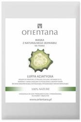 Orientana, Maska do twarzy z naturalnego jedwabiu z Luffą azjatycką, 1szt.
