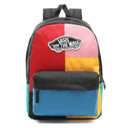 Plecak Vans Realm Patchwork - VN0A3UI6UUW - VN0A3UI6UUW