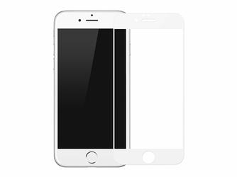 Baseus Szkło Pet Soft 3D Apple iPhone 78 białe - Biały