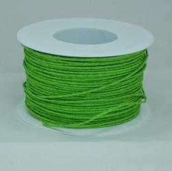 Ozdobny sznurek papierowy z drutem - zielony jasny - ZIELJAS