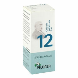 Biochemie Pflueger 12 Calcium sulfur.D 6 Tabl.