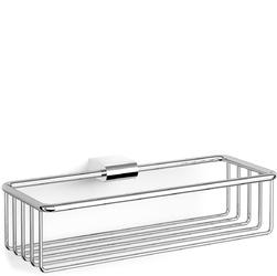 Stalowy koszyk łazienkowy na akcesoria Atore Zack polerowany 40463