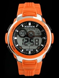 Męski zegarek Xonix - WODOSZCZELNY Z ILUMINATOREM zk027c