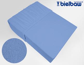 Prześcieradło frotte z gumką, 27 KOLORÓW Bielbaw niebieskie 011 - niebieski