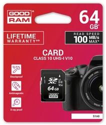 GOODRAM Karta SD 64GB Class 10 UHS I