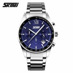 Zegarek męski SKMEI 9096 CHRONOGRAF blue - BLUE