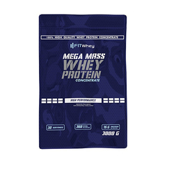 FitWhey Mega Mass Whey Protein 3000g - Strawberry