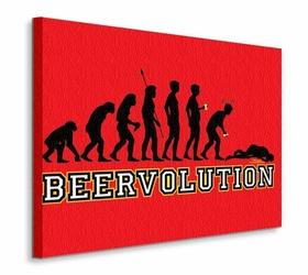 Beervolution - Obraz na płótnie