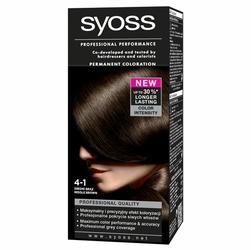 Syoss Color, farba do włosów, 4-1 średni brąz