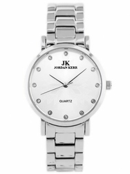 Damski zegarek JORDAN KERR - SNOWFLAKE zj848a - antyalergiczny