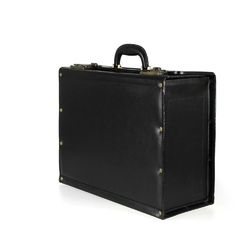 Kufer lotniczy naturalna skóra