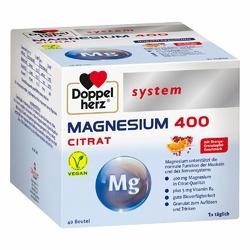 Doppelherz Cytrynian magnezu 400 – granulki