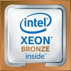 Intel Xeon Bronze 3106 BOX 8C, 1.7 GHz, 11M cache, DDR4 up to 2133 MHz85W TDP