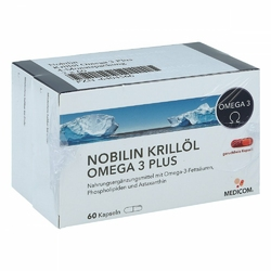 Nobilin Krilloel Omega 3 Plus Kapseln