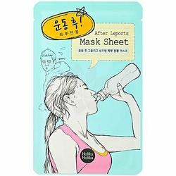 Holika Holika After Leports Mask Sheet Working Out, maseczka idealna po wysiłku fizycznym