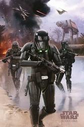 Star Wars Rogue One Death Trooper - plakat
