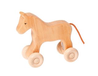 Drewniany koń mały, 1+, Grimms