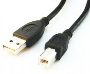 Gembird Kabel USB 2.0 typu AB AM-BM 4,5m czarny