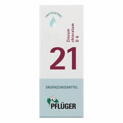 Biochemie Pflueger 21 Zincum chloratum D 6 Trop.