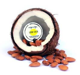 Uoga Uoga, Krem pod oczy z kokosem i migdałami Look Coco, 15ml