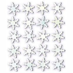 Ćwieki dekoracyjne 2cm20 szt. - śnieżynki