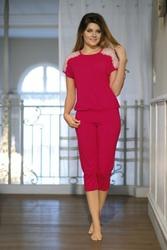 Babella Gracja Jasny rubin piżama damska