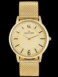 Zloty zegarek damski bransoleta JORDAN KERR - AW162 zj833b - antyalergiczny